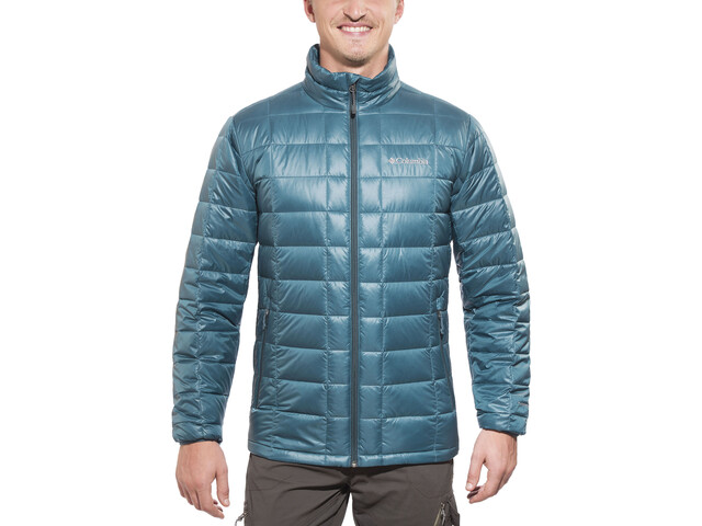 Columbia Trask Mountain Jacket 650 TurboDown Herren everblue/night shadow